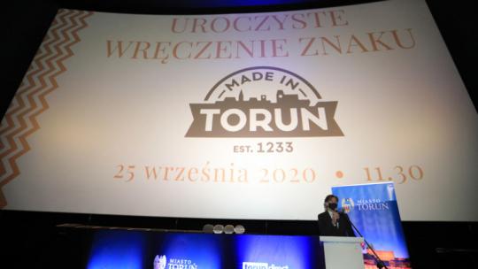 Na zdjęciu: rozpoczęcie gali Made in Toruń