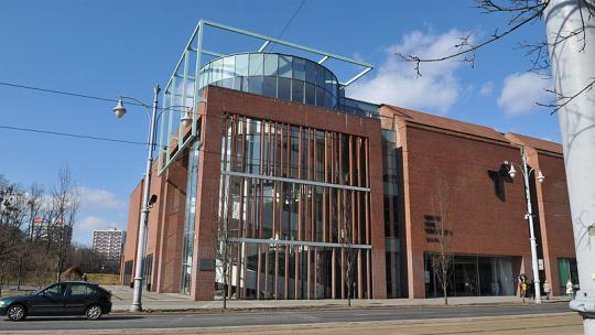 Na zdjęciu: budynek Centrum Sztuki Współczesnej w Toruniu