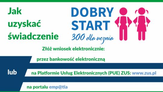 Infografika Dobry Start 300+