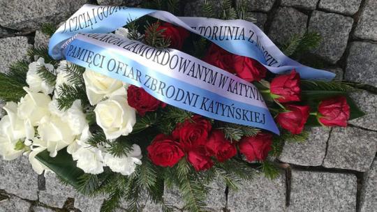 Pomnik ofiar Zbrodni Katyńskiej w Toruniu