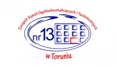Logo Zespół Szkół Ogólnokształcących i Technicznych Nr 13