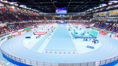 Bieżnia w hali Arena Toruń