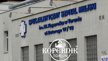 Front budynku Specjalistycznego Szpitala Miejskiego w Toruniu