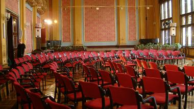 zdjęcie pustej Sali Wielkiej Dworu Artusa