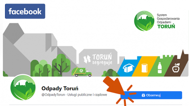 screen z FB Odpady Toruń