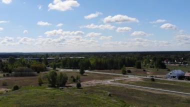 Na zdjęciu widać teren inwestycyjny przy ul. Świdnickiej