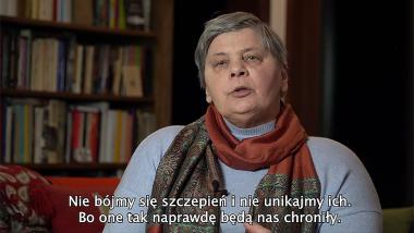 Kadr z filmu Janiny Ochojskiej