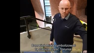 Krystian Góralski oprowadza po CKK Jordanki