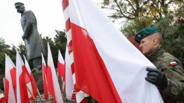 Na zdjęciu: pomnik marszałka Józefa Piłsudskiego