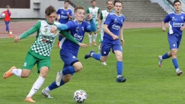 Na zdjęciu mecz piłki nożnej