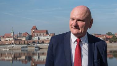 Na zdjęciu: prezydent Michał Zaleski