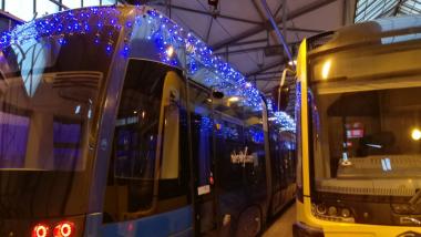 18 grudnia na ulice wyjedzie wyjątkowy tramwaj