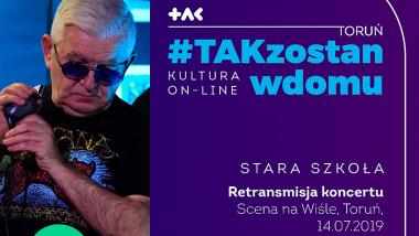 baner koncerty zespołu Stara Szkoła
