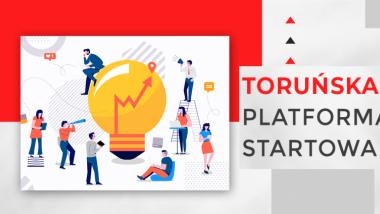 Grafika Toruńskiej Platformy Startowej