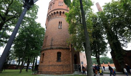 Na zdjęciu: wieża ciśnień na Chełmińskim Przedmieściu