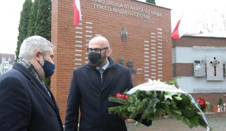 Na zdjęciu: poseł Jan Krzysztof Ardanowski i zastępca prezydenta Zbigniew Rasielewski