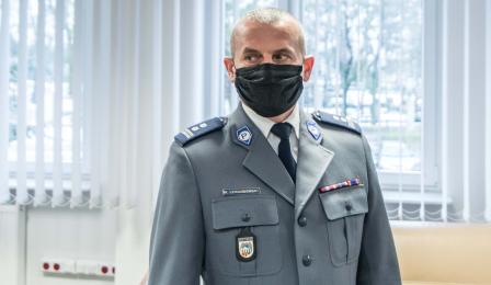 Na zdjęciu I Zastępca Komendanta Krzysztof Lewandowski